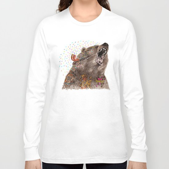 Angry Bear II Long Sleeve T-shirt
