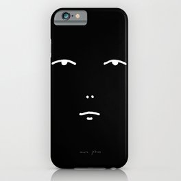 knowingness & uncertainty (face) iPhone Case