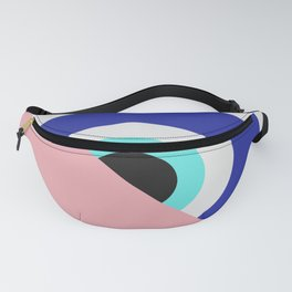 Devil eye pink hide Fanny Pack