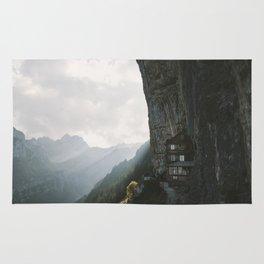 Mountain Cabin - Landscape Photography Rug