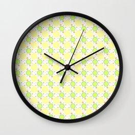 Summer Citrus Wall Clock