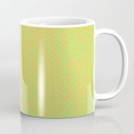 Lime Green Orange Elephant Skin Coffee Mug