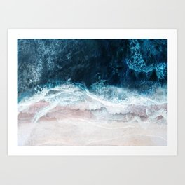 Blue Sea II Art Print