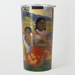 Paul Gauguin - When Will You Marry? Travel Mug