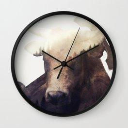Minotaur Wall Clock