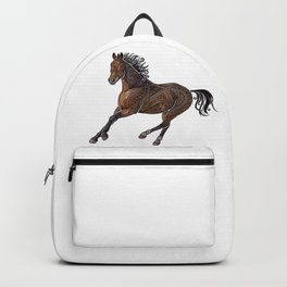 Grecian Horse Backpack