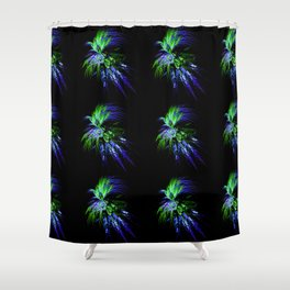 Firework Shower Curtain