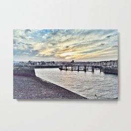 Dieppe Harbour Metal Print