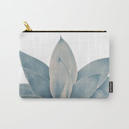 Blush Blue Agave #1 #tropical #decor #art #society6 Carry-All Pouch