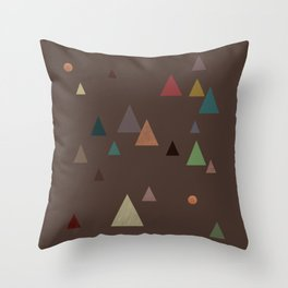 fall || in deep colors Throw Pillow