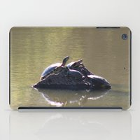 turtles iPad Cases featuring Turtles by Bella Lilly Photography