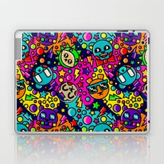 Retro Bear Picnic Laptop & iPad Skin