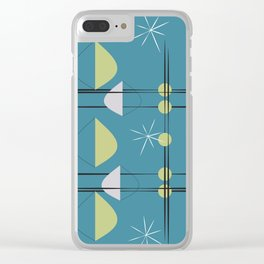 Retro Pattern 02 Clear iPhone Case