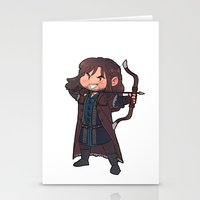 kili Stationery Cards featuring kili by Ronnie