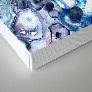 Agate Textures Canvas Print