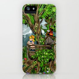Little Explorers iPhone Case