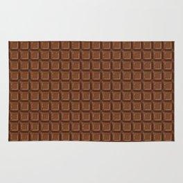 Just chocolate / 3D render of dark chocolate Rug