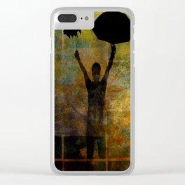 PARAPLUIE Clear iPhone Case
