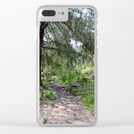 The Mystical Magic of Trees Clear iPhone Case