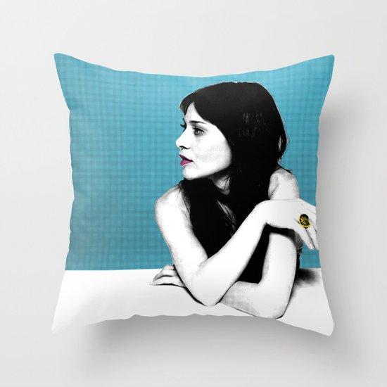 FIONA APPLE IDLER WHEEL Throw Pillow