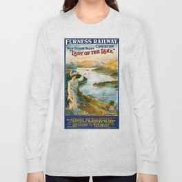 Furness Railway and Lady of the Lake Long Sleeve T-shirt
