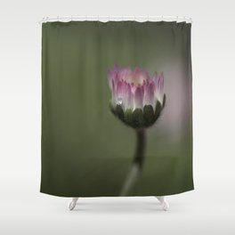 Pink Macro Shower Curtain