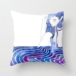 Nereid XVI Throw Pillow