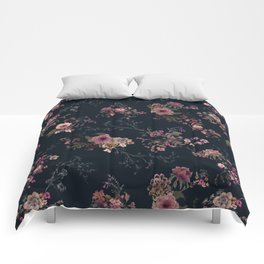 Japanese Boho Floral Comforters