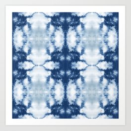 Tie Dye That's Actually Sky oversize Art Print