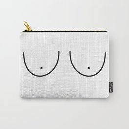 Minimal Boobs Carry-All Pouch