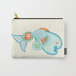 Monsieur Poisson Carry-All Pouch