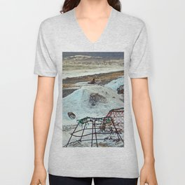 Crab Cages and The Cove Unisex V-Neck