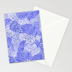 Blue sand Stationery Cards