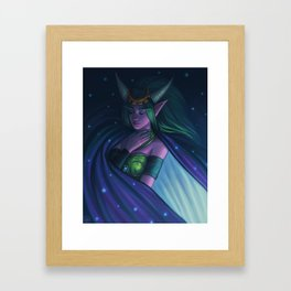 Ysera the Dreamer Framed Art Print