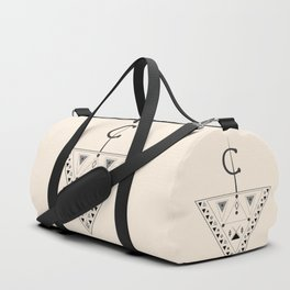 Moroccan and Algerian inspiration - Fubula and berber ornaments Duffle Bag