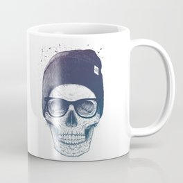 Color skull in a hat Coffee Mug