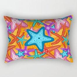Starfish Pattern Design 2 Rectangular Pillow