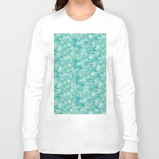 Succulent Leaves Long Sleeve T-shirt