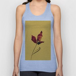 Floral Abstract No.2s by Kathy Morton Stanion Unisex Tank Top