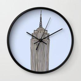 Empire State Bldg. NY Wall Clock