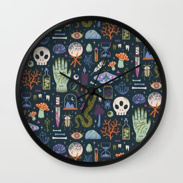 Curiosities Wall Clock