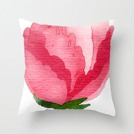 Beauty Rose Flower Throw Pillow