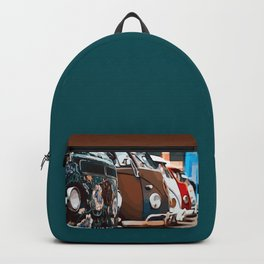 On adventure with the roadtrip bus Backpack
