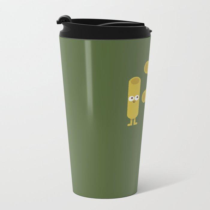Pasta Party Metal Travel Mug