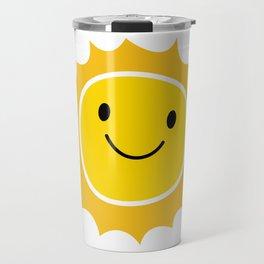 Kawaii Sun Friend Travel Mug