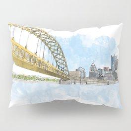 Fort Pitt Bridge Pillow Sham