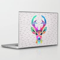 deer Laptop & iPad Skins featuring deer by mark ashkenazi