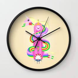 Our Lady of Candy Kingdom Wall Clock