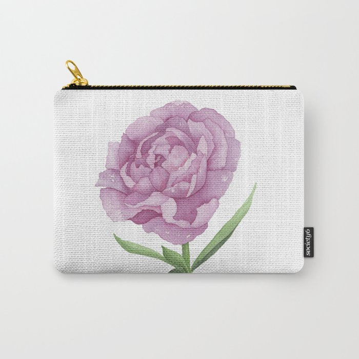 Permanent Peony Love Affair Carry-All Pouch