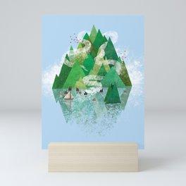 Mysterious Island Mini Art Print